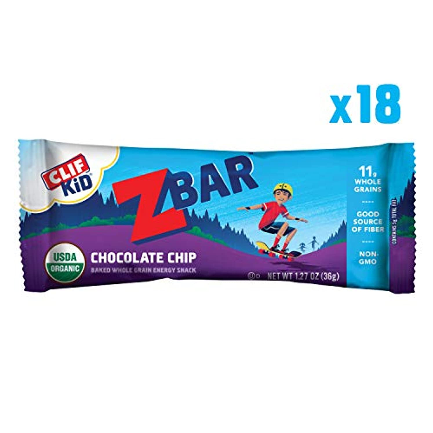 創始者加速する寄り添うClif Bar Z Bar for Kids Chocolate Chip 18 bars ?????