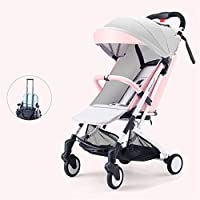軽量ベビーカー カル多重衝撃吸収軽量折りたたみ、快適持ち運びが簡単0〜36ヶ月の赤ちゃん,B