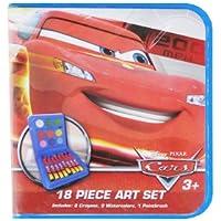 カーズ アートセット 18pc 11226k【ディズニー Pixar 絵具 クレヨン ステーショナリー インポート】
