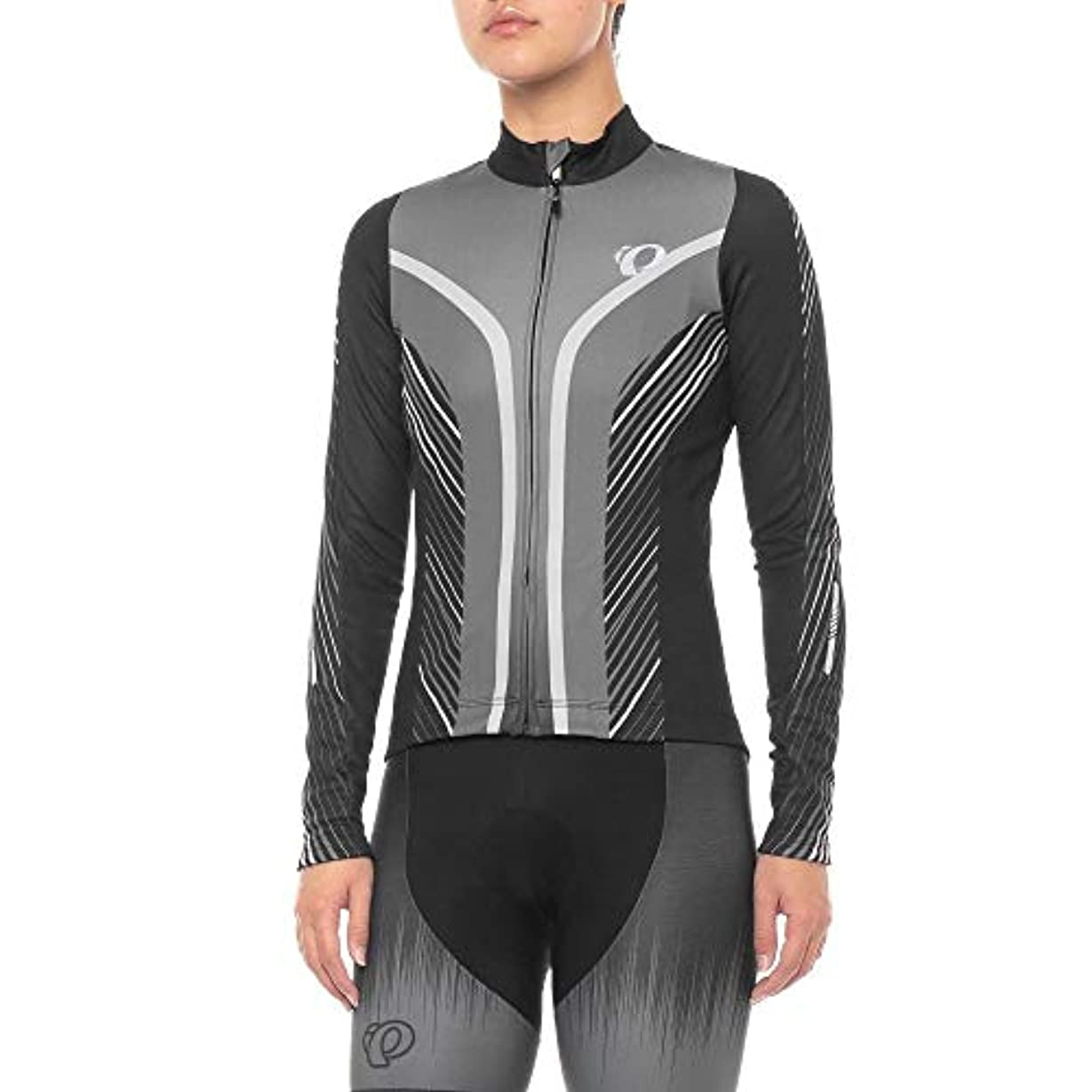 少ない設計図超高層ビル(パールイズミ) Pearl Izumi レディース トップス Elite Pursuit Thermal Graphic Jersey - Long Sleeve [並行輸入品]