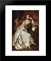 Portrait of Ann Ford (後でMrs Thicknesse ) 20 x 24額入りアートプリントby Thomas Gainsborough