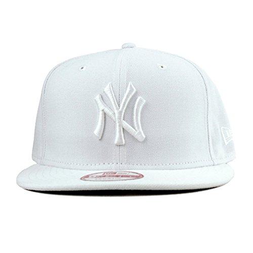 (ニューエラ)NEW ERA 9FIFTY スナップバックキャップ MLB ニューヨークヤンキース ホワイト