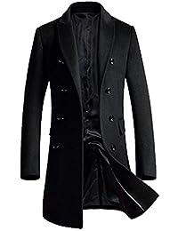 APTRO(アプトロ) コート メンズ ウール チェスターコート ロング あったか アウター 男性コート