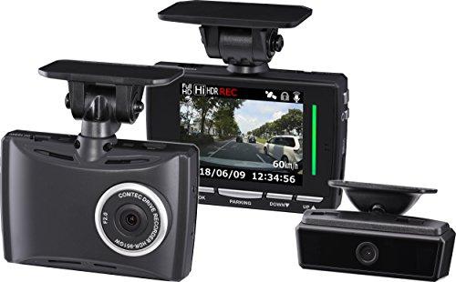 コムテック ドライブレコーダー HDR-951GW 2カメ安全運転支援 200万画素 Full HD 日本製&3年保証 常時録画 衝撃録画 GPS 補償サービス2万円 HDR-951GW