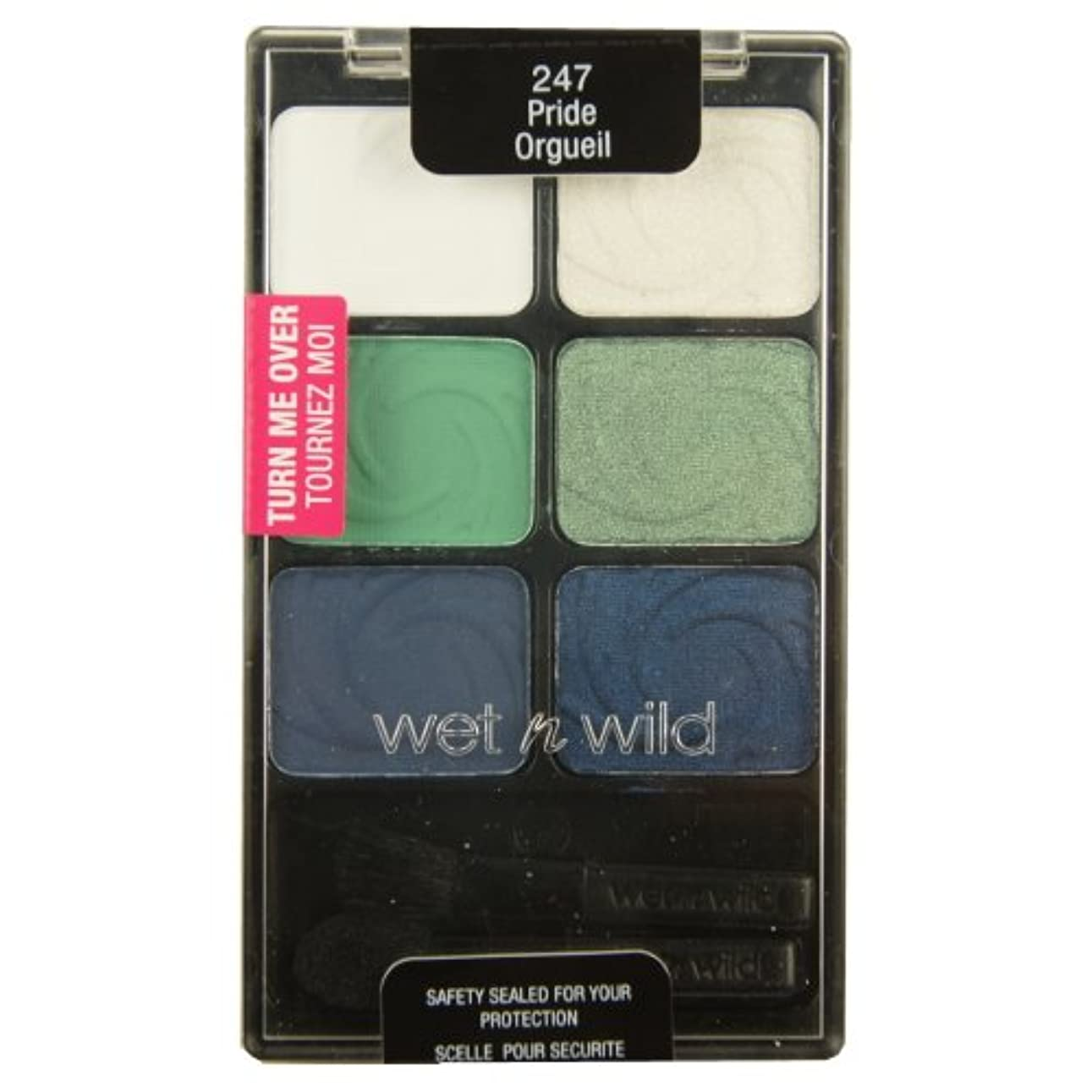 ドナウ川鏡さびたWET N WILD Color Icon Eyeshadow Palette - Pride (並行輸入品)