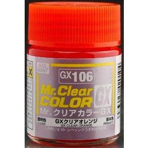 Mr.クリアカラー GX106 GXクリアオレンジ