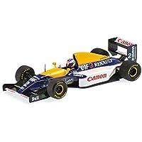 ☆ ミニチャンプス 1/43 ウィリアムズ ルノー FW15C 1993 F1 ワールドチャンピオン A.プロスト