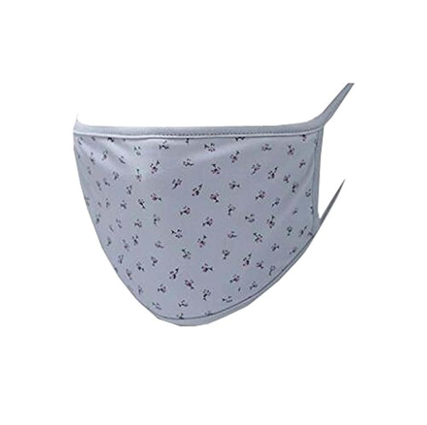 ミシンブルーベル病院口マスク、再利用可能フィルター - 埃、花粉、アレルゲン、抗UV、およびインフルエンザ菌 - E