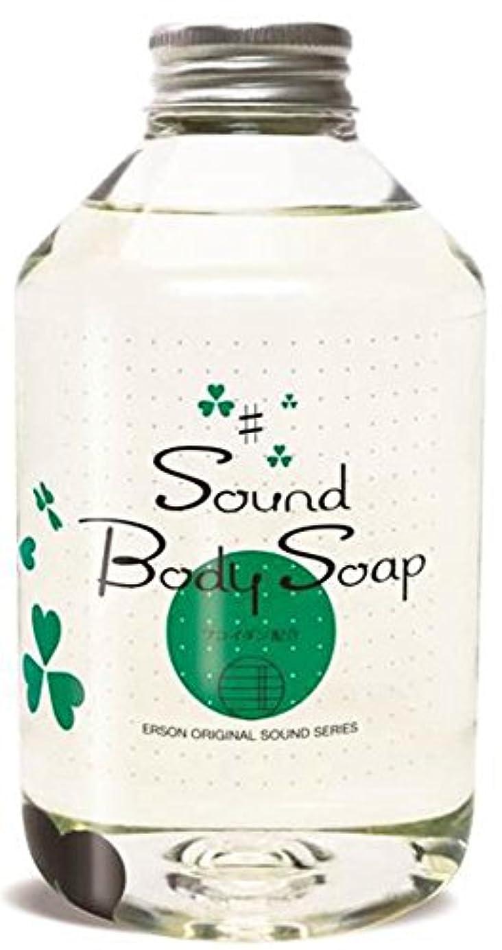 糞かなりのラリー無添加 サウンドボディーソープ 詰替え用 500g