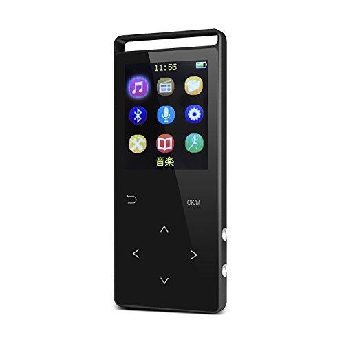 [해외]iHomepack MP3 플레이어 Bluetooth 지원 보수계 기능 터치 센서 HiFi 고품질 마이크로 SD 카드 지원 FM 라디오 녹음/iHomepack MP3 player Bluetooth compatible pedometer function Touch sensor HiFi high quality micro SD card compatible FM ra...