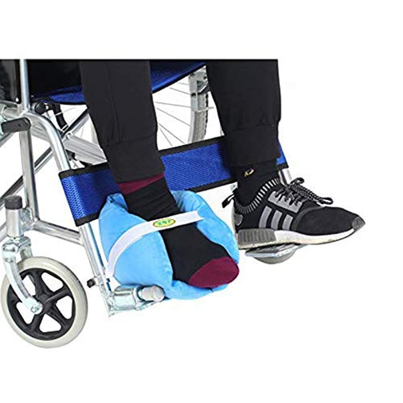 報酬コンパクト人形通気性の高い弾力性のあるスポンジを充填した褥瘡予防のためのかかと枕プロテクター臥床クッション