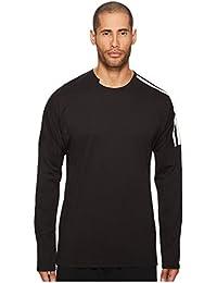 (アディダス) adidas メンズタンクトップ・Tシャツ 3 Stripes Long Sleeve T-Shirt