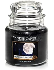Yankee Candle Midsummer's Night Medium Jar Candle, Fresh Scent by Yankee Candle [並行輸入品]
