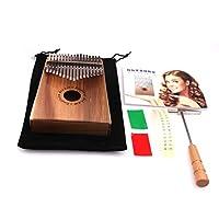 B Blesiya 17キー カリンバ 親指ピアノ ムビラ アフリカ楽器