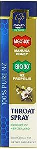 MGO400+ マヌカハニー&BIOプロポリス ナチュラル抗菌のどスプレー