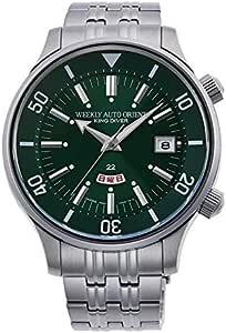 [オリエント時計] 腕時計 リバイバルコレクション Revival オリエント70周年企画 70thAnniversary キングダイバー復刻 KingDiver 限定500本 RN-AA0D13E メンズ シルバー