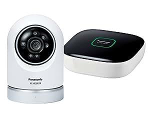 パナソニック ネットワークカメラ スマ@ホーム 屋内スイングカメラ(ペットカメラ)キット KX-HC600K-W