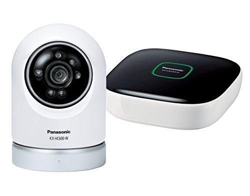 ネットワークカメラ スマ@ホーム 屋内スイングカメラ(ペットカメラ)キット パナソニック(Panasonic) パナソニック KX-HC600K-W