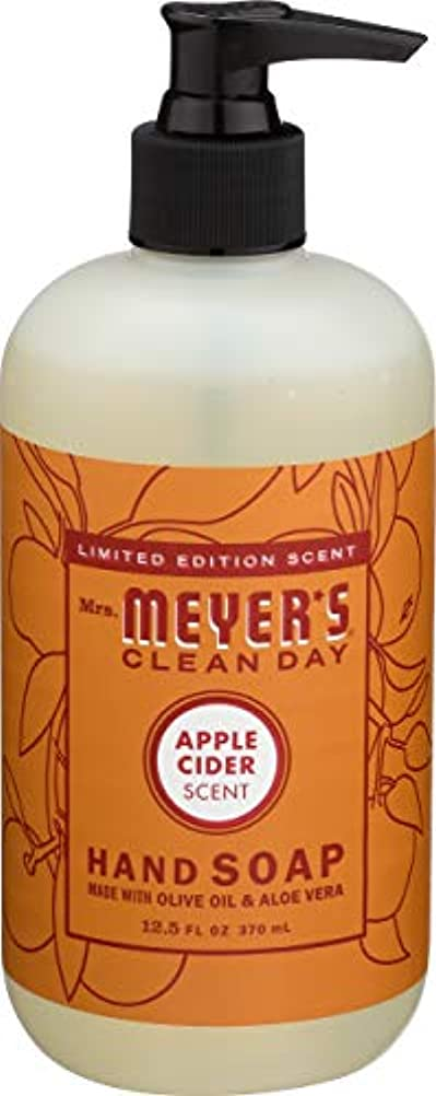 抱擁シーン航海のLiquid Hand Soap - Apple - Case of 6 - 12.5 oz by Mrs. Meyer's
