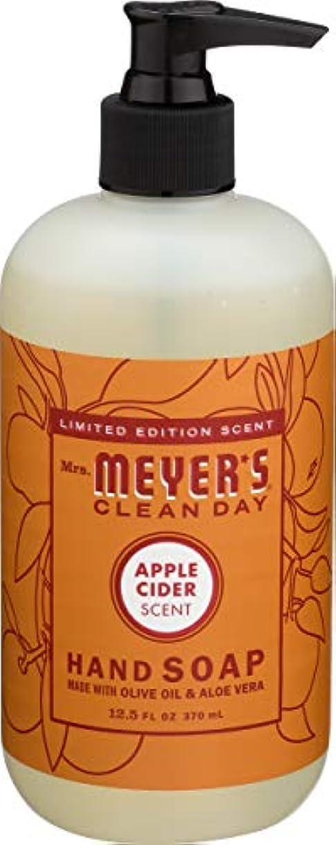 リーフレットみすぼらしい容赦ないLiquid Hand Soap - Apple - Case of 6 - 12.5 oz by Mrs. Meyer's