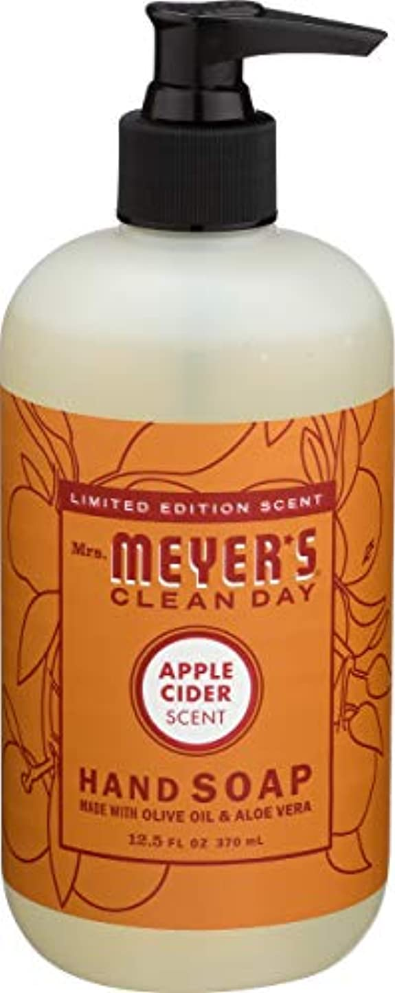 ほめる抑圧者入り口Liquid Hand Soap - Apple - Case of 6 - 12.5 oz by Mrs. Meyer's