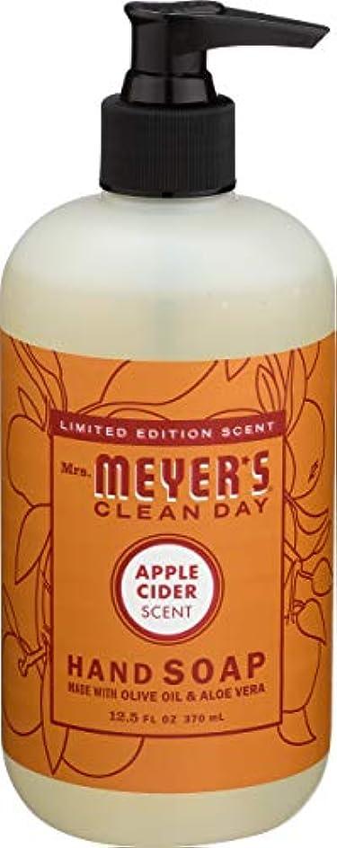 アプト登録白鳥Liquid Hand Soap - Apple - Case of 6 - 12.5 oz by Mrs. Meyer's