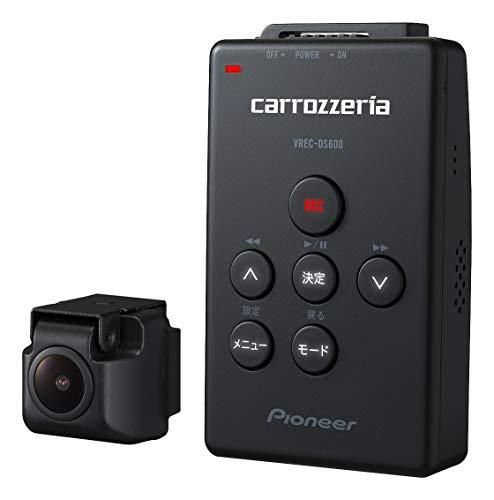 カロッツェリア(パイオニア) ドライブレコーダー VREC-DS600 212万画素 Full HD/WDR/GPS/Gセンサー/対角121º/駐車監視 16GB microSD付属 VREC-DS600