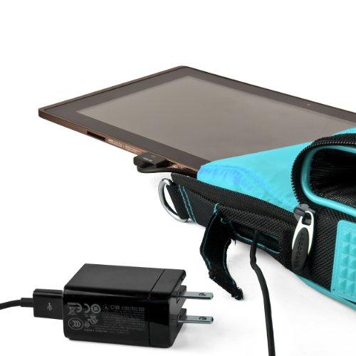 Pindarメッセンジャー携帯バッグ( Aqua ) Lenvoヨガ2Pro 13.3インチウルトラブックノートパソコン
