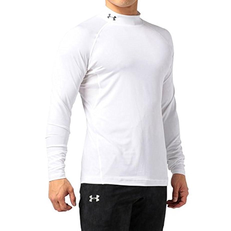 周波数むしろ減少UNDER ARMOUR(アンダーアーマー) メンズ スポーツインナーシャツ ヒートギア フィッティドLSモック ゴルフ 長袖 1342922