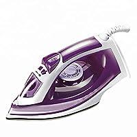 スチームアイロン1800W,旅行のためのプロフェッショナル電気セラミックミニポータブル,Purple