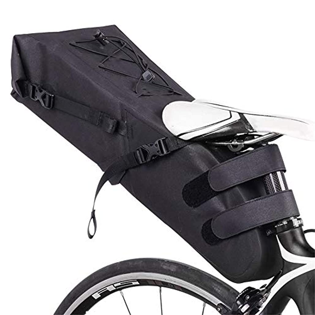 揺れる座標ミリメーターサイクリングバッグ防水マウンテンバイクリアシート防水バッグ自転車アクセサリーキット自転車テールバッグ サドルバッグ?フレームバッグ