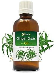 Gingergrass Oil (Cymbopogon martini) var sofia 100% Natural Pure Undiluted Uncut Essential Oil 15ml