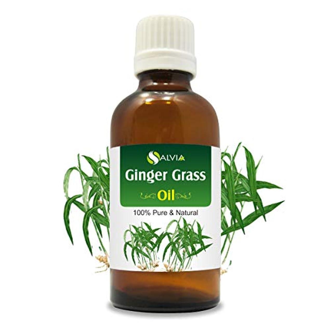 中央シュート山Gingergrass Oil (Cymbopogon martini) var sofia 100% Natural Pure Undiluted Uncut Essential Oil 15ml