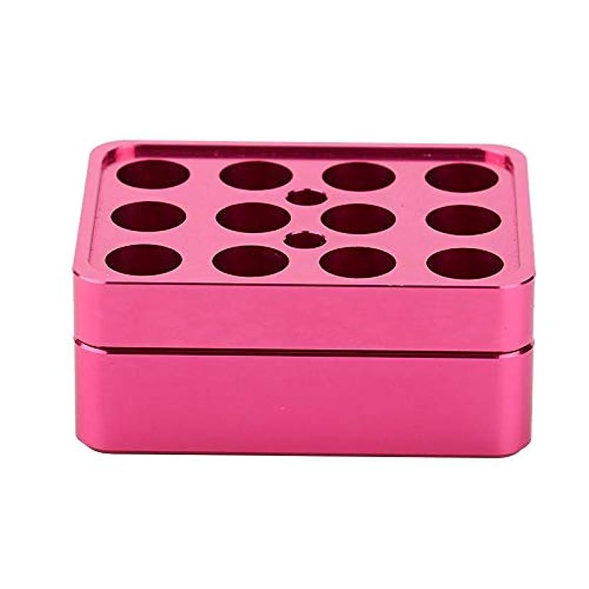 タップ増加するソロ12穴9.3 mm DIY口紅型口紅作る型口紅作るツールアルミ合金