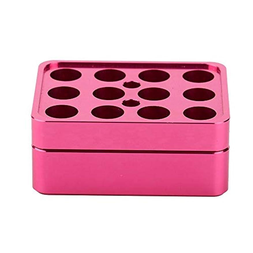 ベテラン隠すマッサージ12穴9.3 mm DIY口紅型口紅作る型口紅作るツールアルミ合金