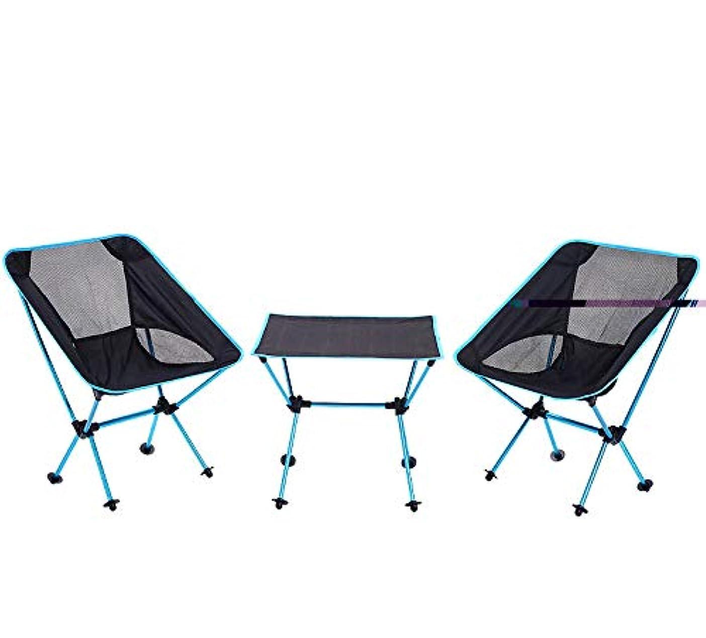 学期両方ボルトアルミ合金の折るテーブルおよび椅子のスーツ携帯用屋外のキャンプのバーベキューおよび多目的折るテーブル3部分は、ほとんどの車のトランクの中に収まるように折り畳みます アウトドア キャンプ用