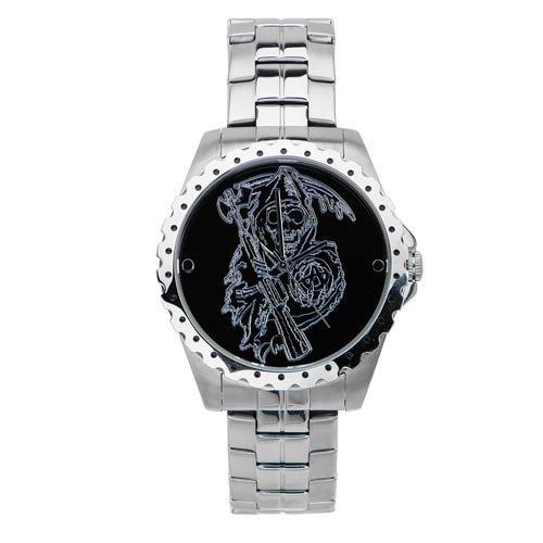 Sons Of Anarchy公式腕時計 - SAMCRO 死神ロゴ ウォッチフェイス