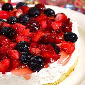 ホールケーキ 誕生日ケーキ バースデーケーキ ミックスベリー...