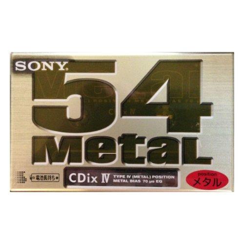 ソニー(SONY) CDix IV 54 メタル カセットテープ C-54CDX4E