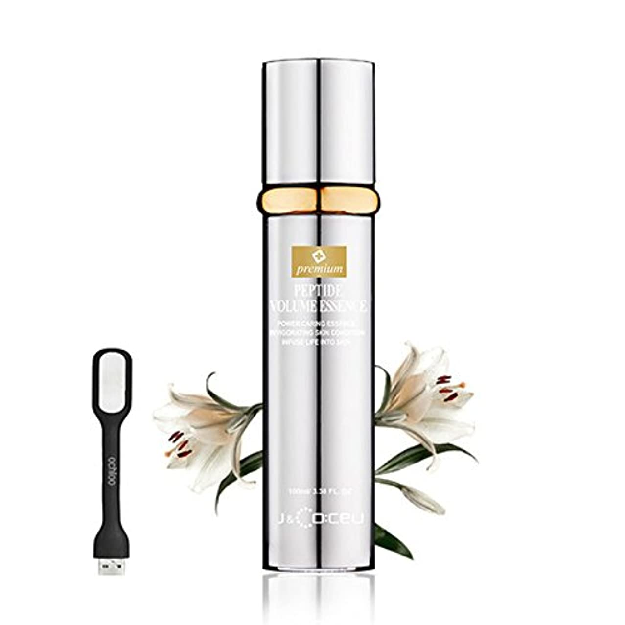 三番不忠小切手Premium Peptide Volume Essence 100ml: Upgraded Cosmetic Botox Anti-Wrinkle Essence All in One Wrinkle-care Firming...