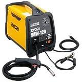 リョービ 半自動溶接機 ノンガス・MIG/MAG兼用・100V電源専用 使用率オーバー防止機能付 4段階電流切替スイッチ/ワイヤースピード調節ダイヤル付 SAW-120