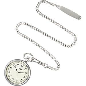 [アルバ]ALBA 懐中時計 ポケットウオッチ シルバー アラビア数字 AQGK445