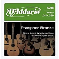 ダダリオ/D'Addario EJ18 PB Heavy Acoustic Guitar Strings Set/アクセサリー【並行輸入品】