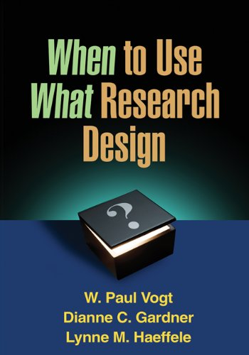 Download When to Use What Research Design 1462503535