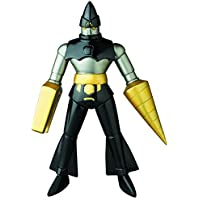 Medicom Dynamic Heroes: Getter 2 Sofubi Action Figure (Black Version) [並行輸入品]