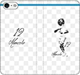 iPhone/Xperia/Galaxy/他機種選択可:サッカー/グラフィティ手帳ケース(デザイン:マドリッド/12番_01) 03 iPhone6/6s