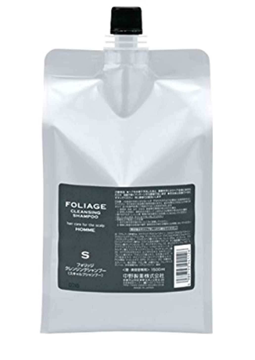 たっぷり新鮮な商業の中野製薬 フォリッジ クレンジングシャンプー 1500ml