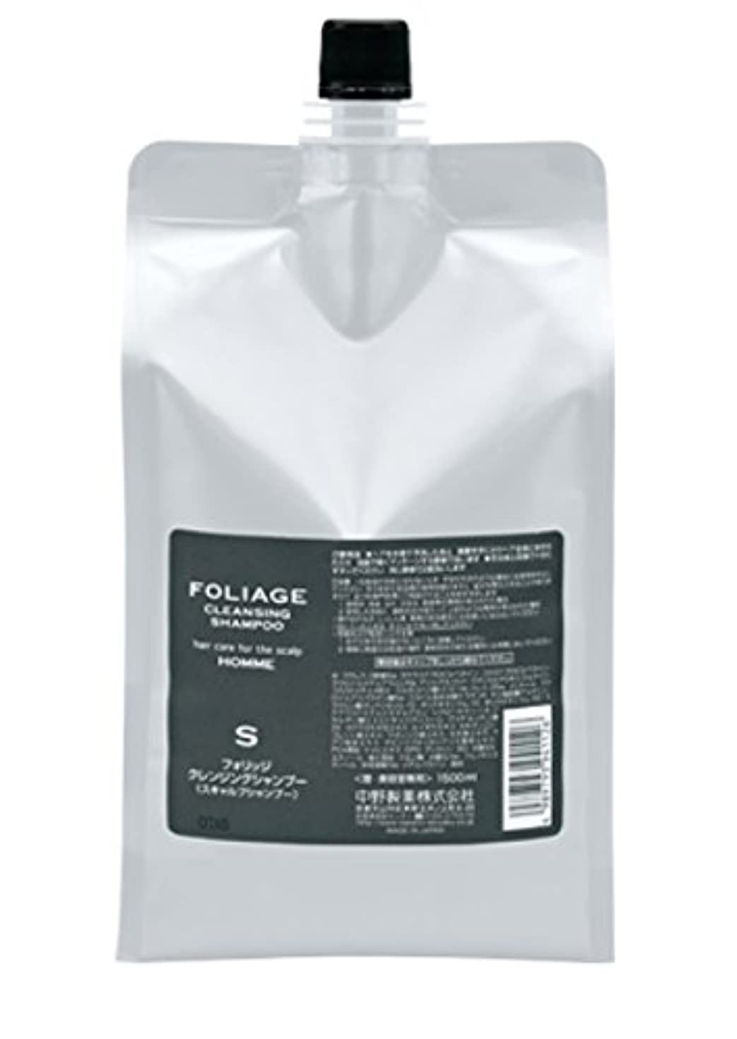 法令アイロニー食用中野製薬 フォリッジ クレンジングシャンプー 1500ml