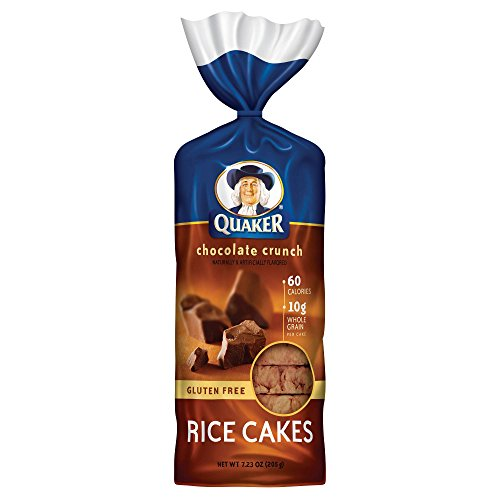 Quaker Chocolate Crunch Large Rice Cakes 200gx3個 クエーカーチョコレートクランチライスケーキ [並行輸入品]