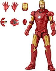 Hasbro Marvel Legends Series 6-inch Scale Action Figure Toy Iron Man Mark 3 Infinity Saga character, Premium D